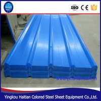 lowes metal roofing sheet price color coated corrugated roofing sheet , roofing tile