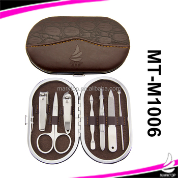 7PCS stainless steel Travel Pedicure Kit (Customized Lable)