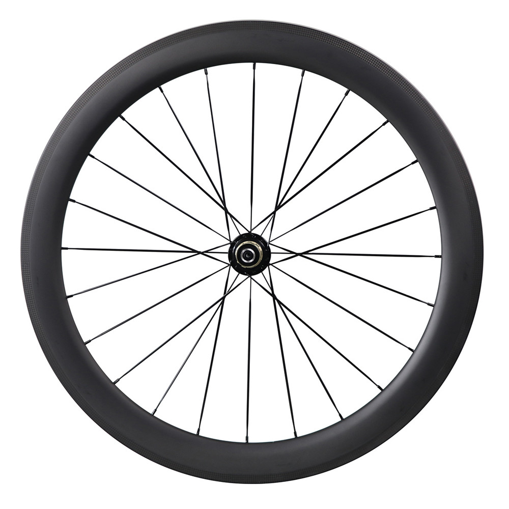 Toray T700 carbon bicycle parts,55mm clincher carbon rims Road bike wheels 55C