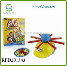 Game Wet Head New Water Roulette Toy Fun For Kids Family Outdoor Challenge