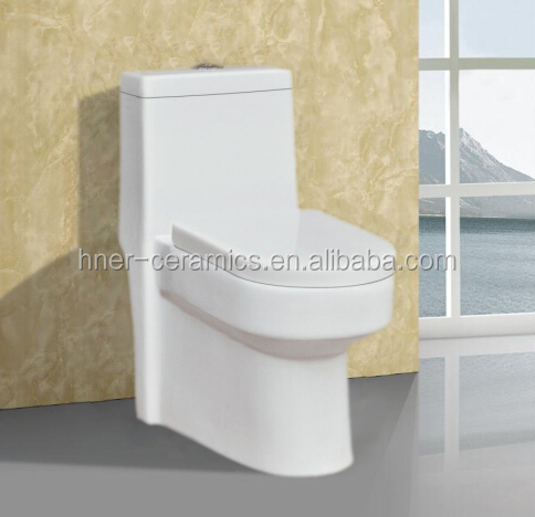 Fashional siphon one piece toilet ceramic toilet bathroom,sanitary ware Siphonic One Piece toilet,square shape ceramic toilet