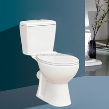 2015 high quality floor mounted installation type and two piece structure Australia toilet
