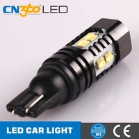 50W 680LM Long Life CE Rohs Certified T10 3014 5Smd Led Car Light Bulb 28 Smd