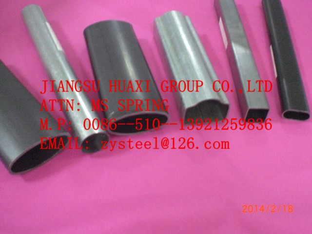 Hot Galvanized Square or round Pipe/Tube ASTM A500 Welded from mill