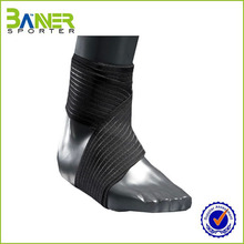 Wholesale compression basketball spandex ankle guard