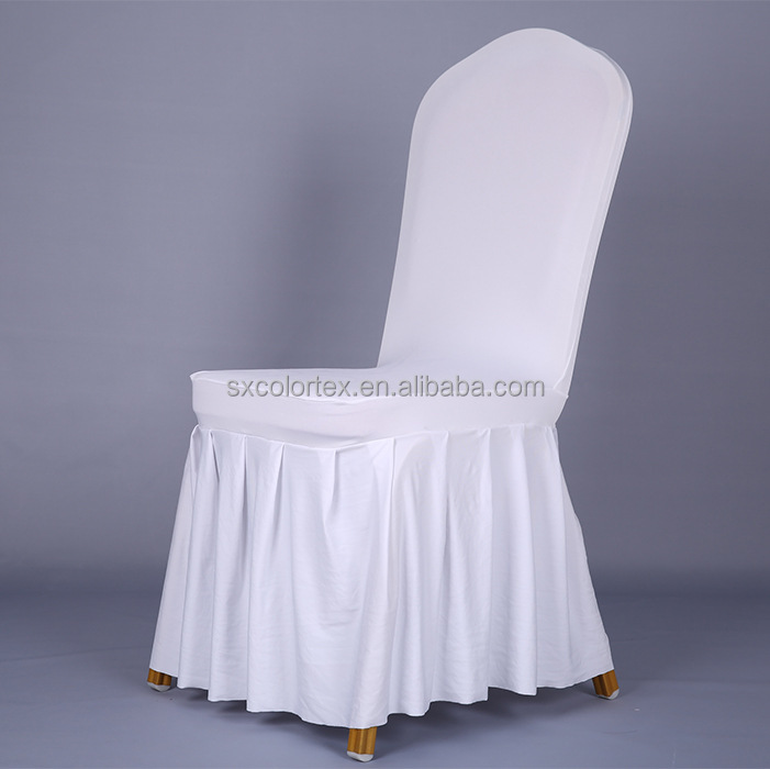 Direct China factory low price ruffled decorative outdoor ptoctctive chair cover