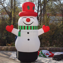 2014 more popular inflatable Christmas snowman costume