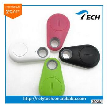 hot sale of anti lost alarming smart tracker key finder bluetooth with control taking photo