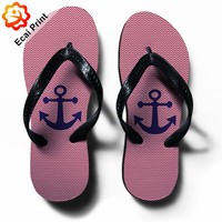 2016 latest sublimation hotel flip flop sandals
