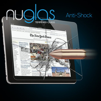 Nuglas Premium Anti Shock 9H Tempered Glass Screen Protector for iPad 2