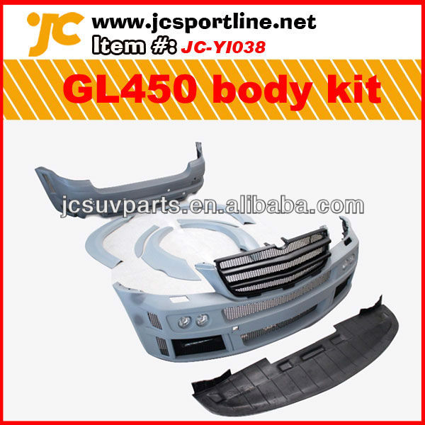 For Mercedes Benz G class GL450 Body Kit Barbes Style PU Material