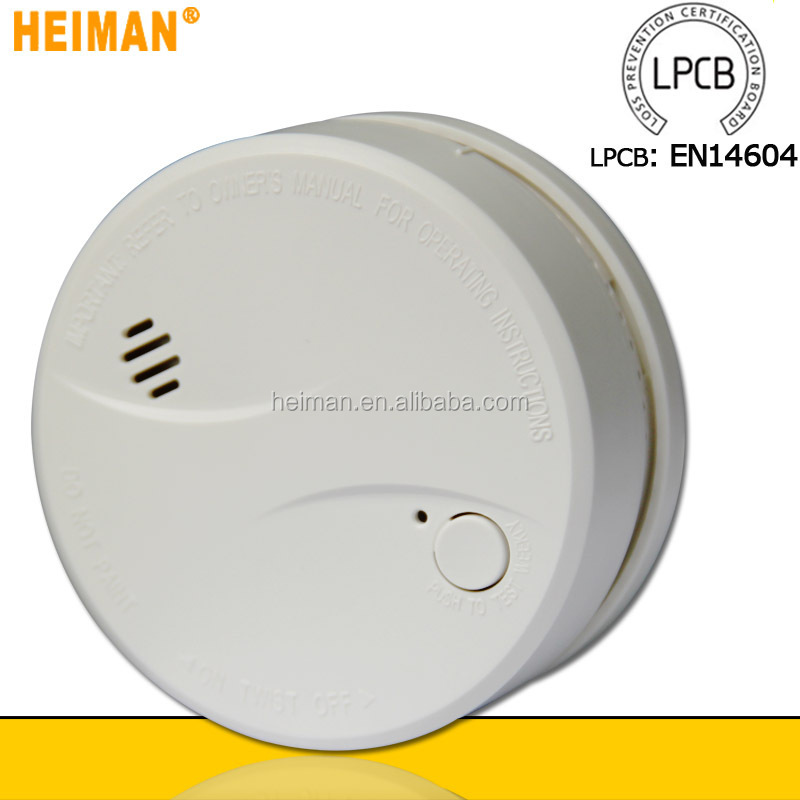 Wholesale Hot New smoke detector for 2015 EN14604 certificated 10 year sealed with LPCB approved novelty cigarette smokedetector