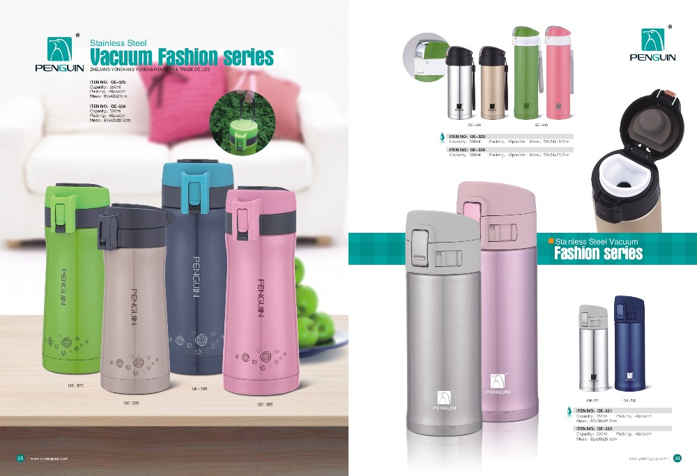 High Quality Stainless Steel Vacuum Flask fashionable flask fashion series
