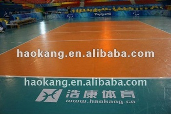 Indoor PVC floor for volleyball