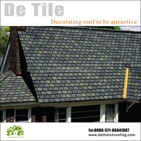 Hot sale artificial round type roof tiles