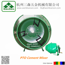 3 Point tractor mounted PTO Cement Mixer