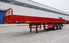 Good Quality 3 Axles JC Flatbed
