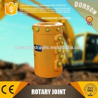 Special hydraulic excavator central swivel joint