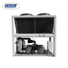 The newest 30hp scroll type parallel compressor condensing unit