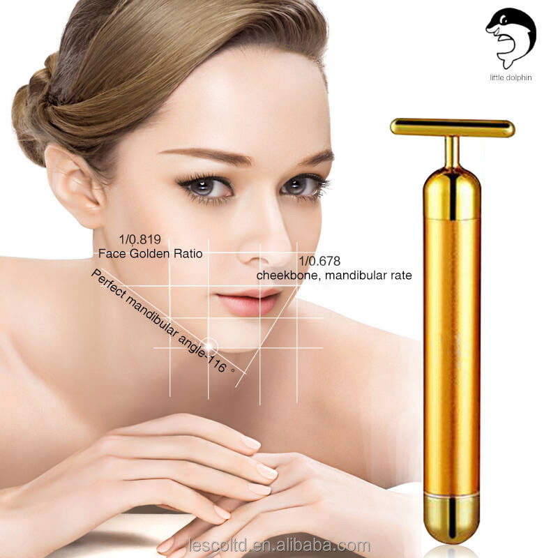 Export to Japan 24k T Shape Beauty Bar for Vibration Massage Skin