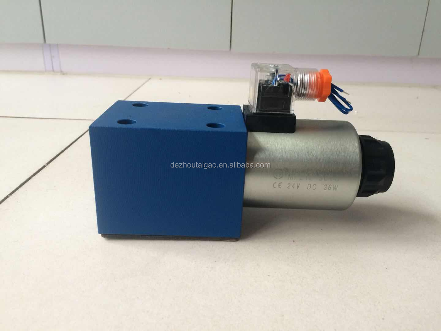 High quality directional control valve hydraulic solenoid valve in China
