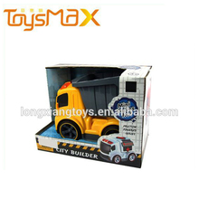 Cute Friction Toy Dump Truck For Kids