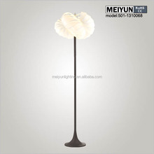luminaire lamps lighting room paper floor lamp 2x58w fluorescent lighting fitting