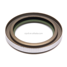 Rubber double lip oil seal with spring