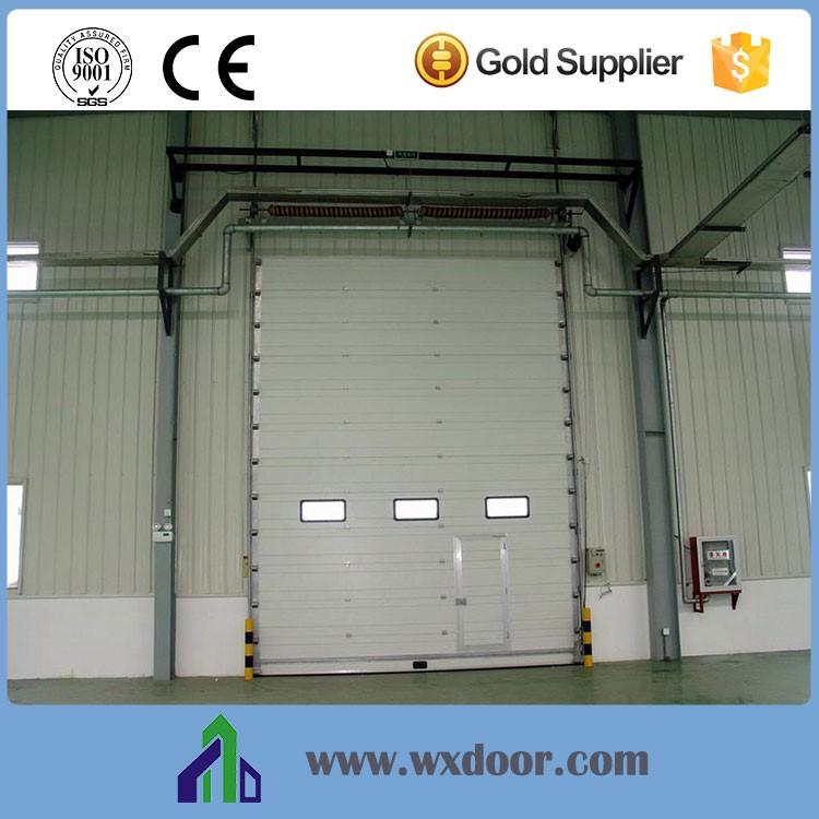 Industrial Lift Gate : Color steel industrial vertical lift door gate designs