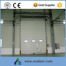 color steel industrial vertical lift door/gate designs