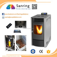 9KW cheap Modern pellet stoves in china