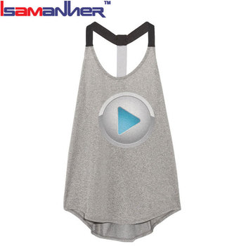 Breathable brand sexy t-back yoga women sports wear
