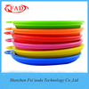 2016 New High Quality Multicoloured Collapsible Silicone Pet Bowl