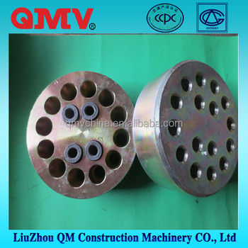 Foundation anchor plate for prestressed concrete strands