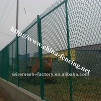 Hebei factory safety fence/curving welded wire mesh fence