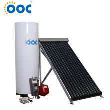 Professional manufacturer produce heat pipe vacuum tube solar collector