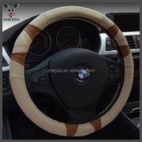 sports leather car steering wheel cover