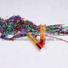 20cm small cute popular confetti poppers,streamer metallic poppers