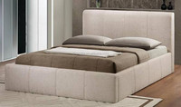 Concise Style Lift Up Storage Fabric Bed LB917