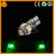 Auto led light W5W,T10,194 12V canbus t10 5 smd 5050