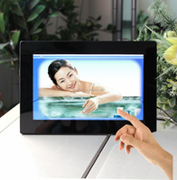 bulk 10'' inch wifi bluetooth camera android touch panel digital photo frame IPS screen
