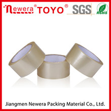 Thermal resistant different size easy tear low noise bopp adhesive tape