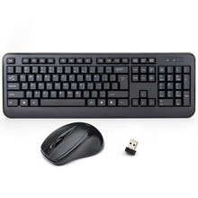 2.4GHz standard Wireless Keyboard and Mouse Combo for Laptop Desktop