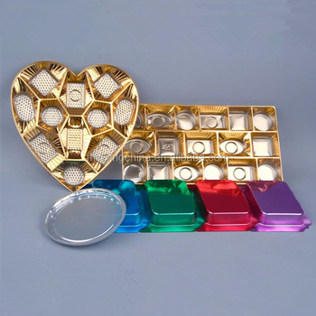 wholesale crystal chocolate box heart shape