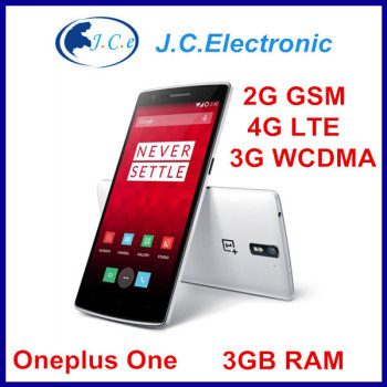 "OnePlus One Plus One 64GB 4G LTE Mobile Phone 5.5"" FHD 1920x1080P Snapdragon801 2.5GHz 3GB RAM 16GB Android 4.4 13.0MP NFC"
