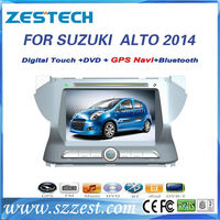 ZESTECH Shenzhen touch screen car dvd player with gps navigation for SUZUKI new ALTO