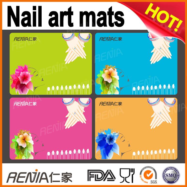 Custom Nail Art Stamping Plates With Mat, Custom Nail Art Stamping ...
