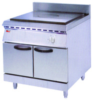 Gas French hot-Plate Cooker With Cabinet