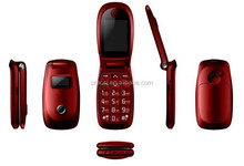 dual sim celulares flip, big button flip phone