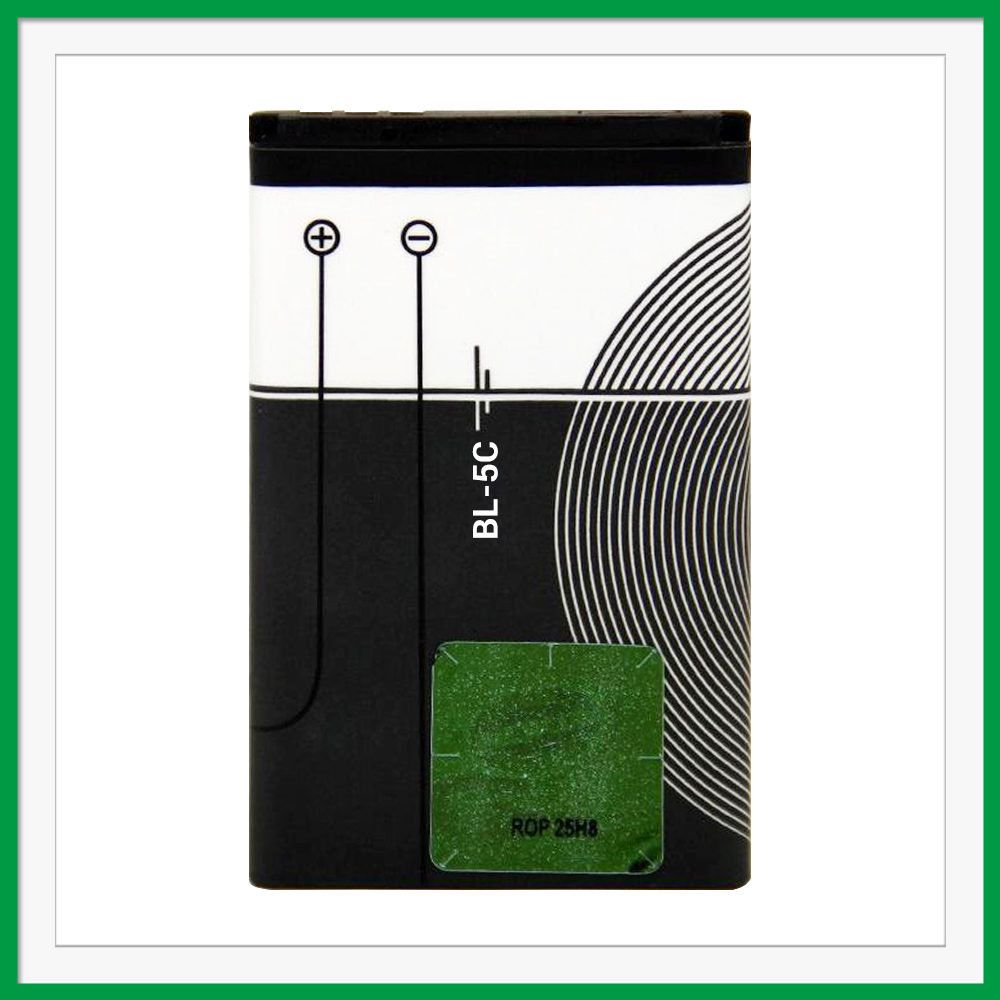 Long time replaceable battery for nokia BL-5C 6630 6680 6230i 2310 3110 1020mAh 3.7v